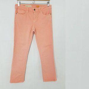 Pilcro Anthropologie Stet Jeans in Peach Size 28